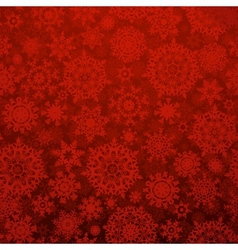 Seamless deep red christmas pattern EPS 10 vector image