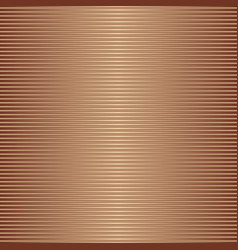 Shiny bronze gradient metal seamless striped vector