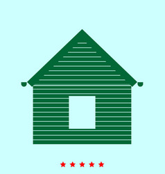 Siding front set it is color icon vector