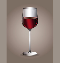 wine beverage glassware image vector image