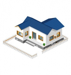 rich house vector image