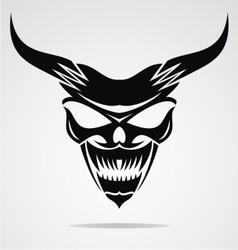 Demon Mask vector image vector image