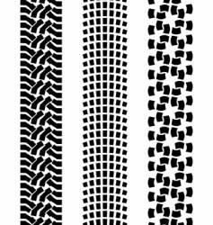 off-road car tire vector image