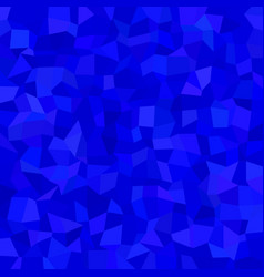 Blue irregular rectangle tile mosaic pattern vector
