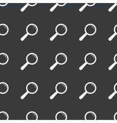 Straight black search pattern vector