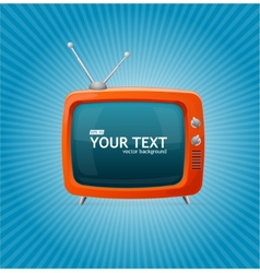 Tv blank vector image