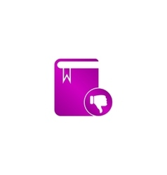 book icon Flat design style vector image