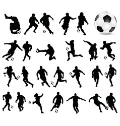 Football players 3 vector
