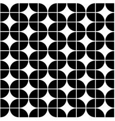 seamless geometric pattern of circles vector image