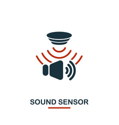 Sound sensor icon from sensors icons collection vector