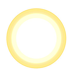 sunny icon isolated logo stylized vector image