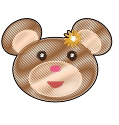 Teddy bear icon image vector