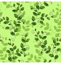 Sweet pea seamless pattern vector