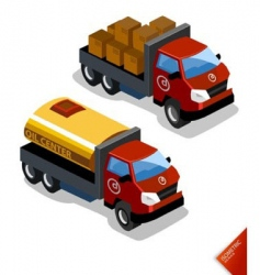 oil truck vector image