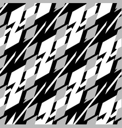 Abstract seamless geometric background pattern vector