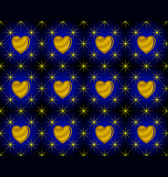 Anniversary pattern background shaped stars and vector