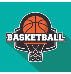 Ball of Basketball sport design vector