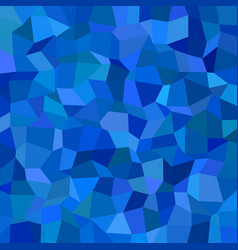 Blue abstract rectangle tiled mosaic pattern vector