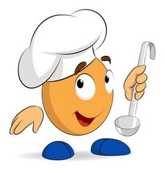 Cartoon chief vector