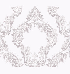 Vintage acanthus decor ornamented pattern vector