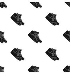 basketball shoesbasketball single icon in black vector image