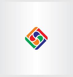logo abstract business tech symbol vector image vector image