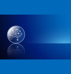 Abstract background technology concept vector