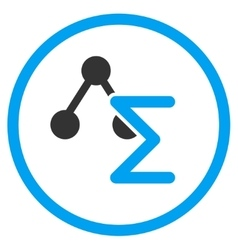 Analytical Formula Icon vector