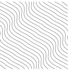creative seamless outline pattern striped vector image