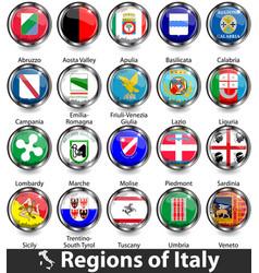Regions italy vector