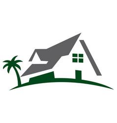 residence home logo icon vector image