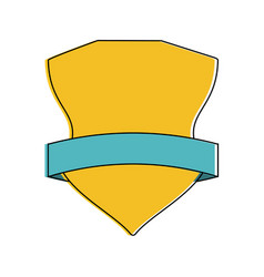 shield badge icon image vector image