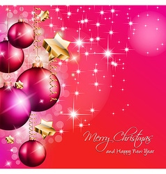 2014 Christmas Colorful Background vector image