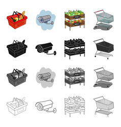 department store goods and other web icon in vector image