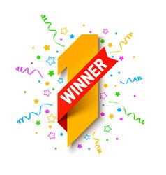 First winner place vector