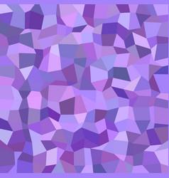 Geometric irregular polygon mosaic pattern vector
