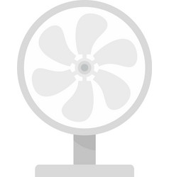 wind home fan icon flat isolated vector image