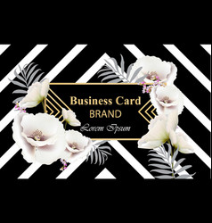 business luxury card modern abstract vector image