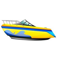 A sea vessel vector
