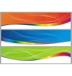 abstract board set vector image vector image