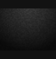 abstract geometric polygons background black vector image