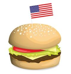 Burger design vector