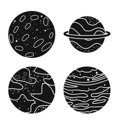 Cosmos and science logo vector