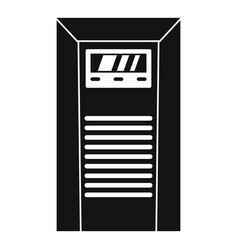 Electrical tool box icon simple style vector
