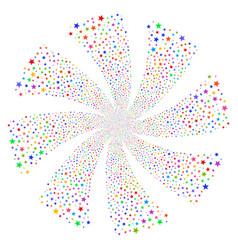 Fireworks star fireworks swirl rotation vector