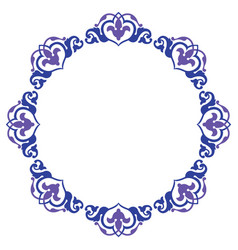 ornamental circle design vector image