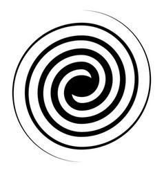 Spiral swirl icon swirl sign double vector