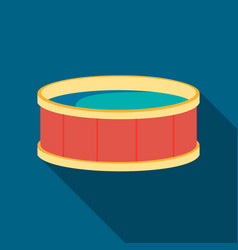 swimming pool icon icon of vector image