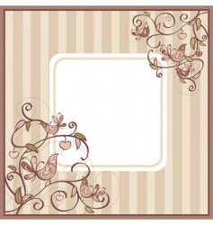 cute card vector image