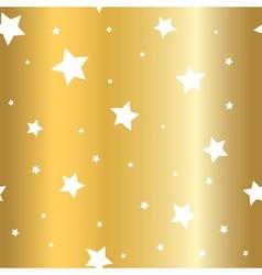 Stars gold background cartoon glitter white vector